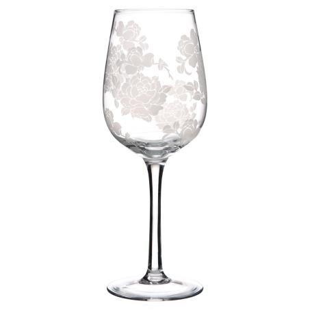 Lot de 6 verres Grand cur Rose pour Mariage