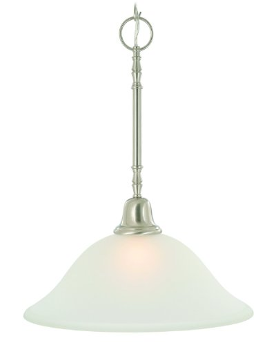 Majestic Nickel Pendant - Monument 617261 Sonoma Pendant, Brushed Nickel, 15 X 20 In.