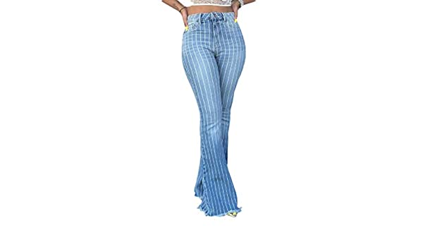 Joe Wenko Womens Trendy High Waist Denim Washed Wide Leg Palazzo Pants