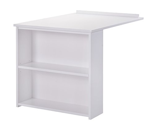 Whistler Junior Slide Out Desk - White by Canwood