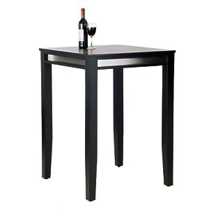Home Styles Manhattan Black Pub Table-Parent