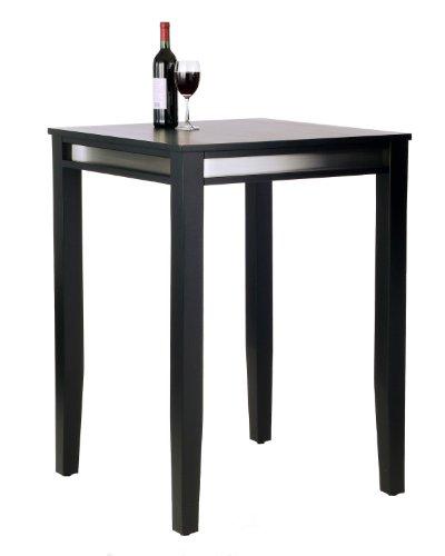 Home Styles Manhattan Pub Table, Black (Style Table Pub)