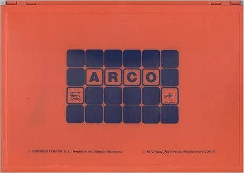 ARCO ESTUCHE CONTROL ARCO 508010 24 FICHAS: Amazon.es: AA.VV.: Libros
