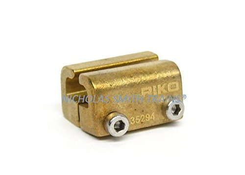 Piko G Scale Brass Train RailClamp, Over-Joiner, 10 Pieces 35294