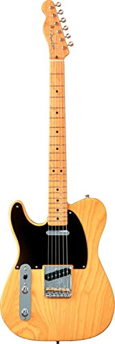 Fender American Vintage '52 Telecaster Reissue Electric Guitar, Butterscotch Blonde, Maple Fretboard