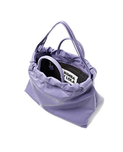 shopper lilac bag leather Femme y 182BBAL2Q Bimba Lola Square PqYzRxCw