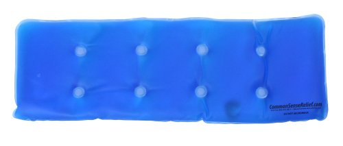 Common Sense Relief - Instant Reusable Heat Pack for Back Pa