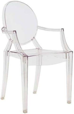 Sedie Trasparenti In Plastica.Kartell Louis Ghost Sedia Confezione Da 4 Pezzi Cristallo
