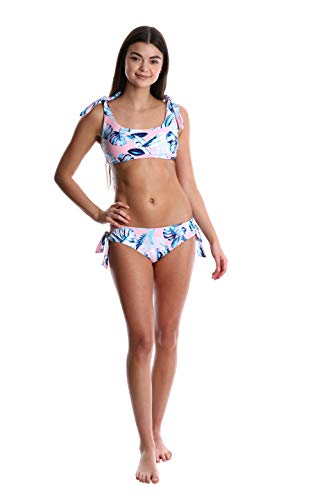 Women's WallFlower Bikini Bottom Small - Pink - Seperates