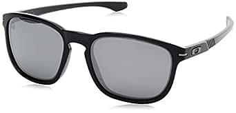 Oakley Men's Enduro Round Eyeglasses,Black Ink,55 mm