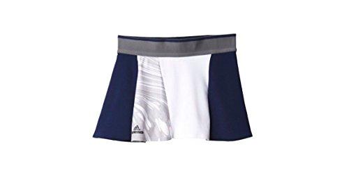 (Adidas Stella McCartney Womens Barricade Tennis Skort M Navy/Oyster Grey/White)