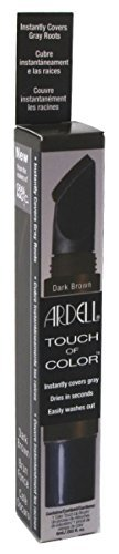 Ardell Touch Of Color Instant Gray Root Cover Applicator Brush - Dark ()