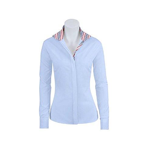 RJ Classics Essential Prix Jr. Show Shirt Girls Blue 4