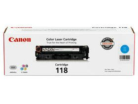 Price comparison product image Canon Usa Cartridge 118 Cyan Toner For The Canon Color Image Class Mf8350cdn