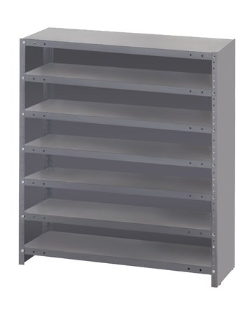 Quantum Storage Systems CL1239-000 Closed Shelving System for Super Tuff Euro Drawers (Sold Separately),12
