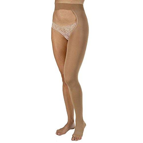 BI114674 - Bsn Jobst Relief 20-30 Chaps Style,Beige,Large,Left Leg,Open