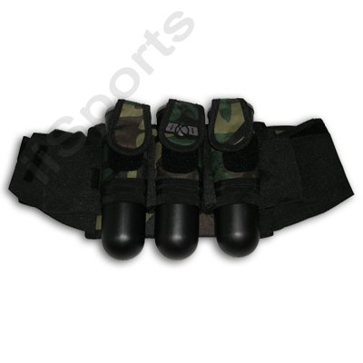 Tubes Paintball Harness 4 (GxG 3+4 Paintball CAMO Slam Pod/Tube Harness Pack)