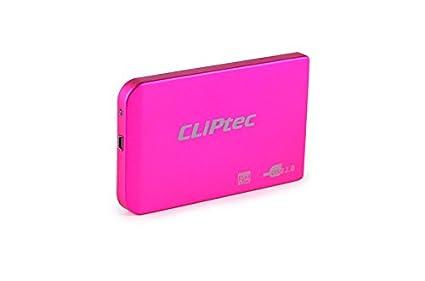 Carcasa externa de Disco HDD CLiPtec® USB SATA de 6,35 cm, con USB 3.0, cable de 9,5 mm 7 mm SATA. azul USB 2.0 - 2.5