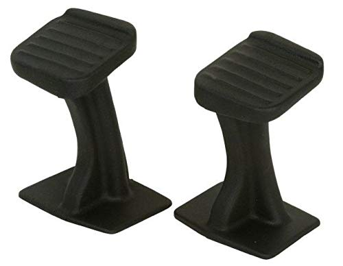 Wes Universal 115-0002 Single Seat ATVs Replacement Foot Pegs ()