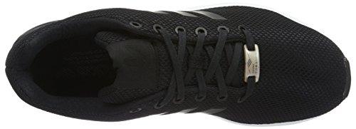 Adidas Originals Zx Flux Heren Hardloopschoenen Trainers Sneakers Zwart Wit S32274