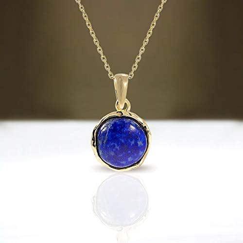 Genuine Blue Lapis Lazuli Libra Necklace Lapis Lazuli Necklace