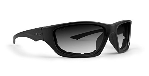 Transition Lens Sunglasses - EPOCH Foam3 Padded Photochromic Motorcycle Sunglasses Clear to Smoke Lens