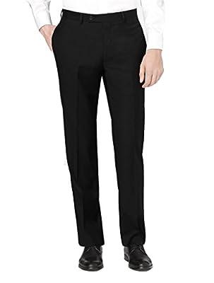Calvin Klein X-Treme Slim Fit Dress Pants For Men Flat Front Trousers