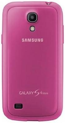 Samsung Protective Cover Plus - Funda para móvil Galaxy S4 mini (revestimientode goma), rosa: Amazon.es: Electrónica