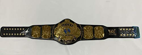The Undertaker Signed Winged Eagle Wwe Championship