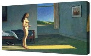 A Woman in the Sun  by Edward Hopper   Giclee Canvas Print Repro