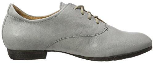 Think! Ebbs, Zapatos de Cordones para Mujer Gris (Ice 10)