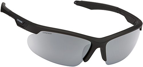 Speed espejados Gafas Plata Talla Única Sol Lentes de Unisex Negro Cressi Azul Lentes Negro Reflejado Adulto Zdwf5Zq