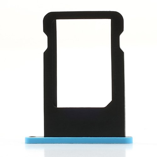 SIM Card Tray for iPhone 5C (Blue) - 1