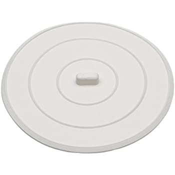 Danco  Inc  5  Flat Suction Sink Stopper White. Amazon com  Good Cook Kitchen Sink Stopper  Kitchen   Dining