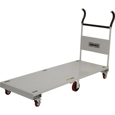 Roughneck 2,200-Lb. Flatbed Cart - 72in.L x 27in.W ()