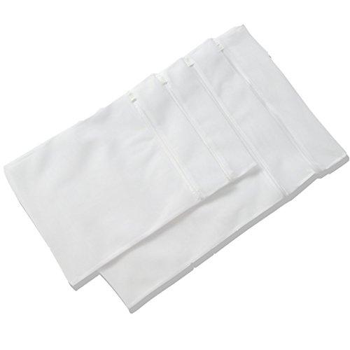 - DAPRIL 001 Cutton Produce Bags, Small, White