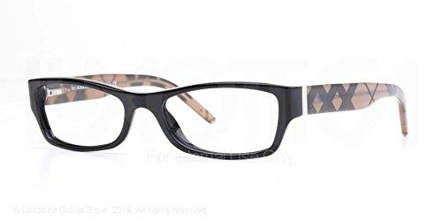 f3f3c2369009 BURBERRY BE 2094 Eyeglasses 3346 Black 54-17-135: Amazon.co.uk: Clothing