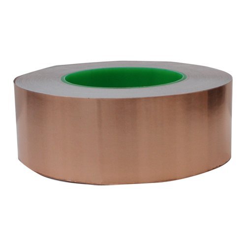 Cinta de Cobre 50mm x 50mt Adhesivo Conductor TAPES MASTER