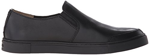 Frye Slip Leather Fashion Gemma Women's Sneaker Black FEq7Frw