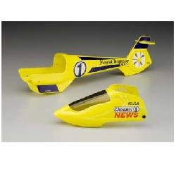 - Fuselage Yellow w/Decal Axe EZ