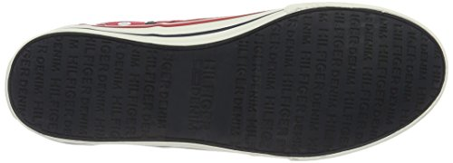 Hilfiger Rosso Scarpe 1d V2385ic Basse Tango Red Uomo Ginnastica 611 da Tommy AqFdwnA