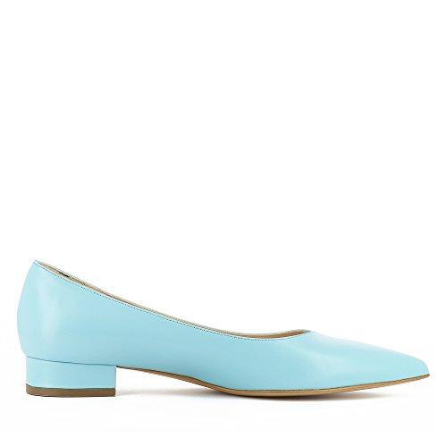 Clair Evita Bleu Cuir Lisse Franca Femme Clair Evita Lisse Shoes Escarpins Franca Shoes Bleu Femme Evita Escarpins Cuir 6fnzTA