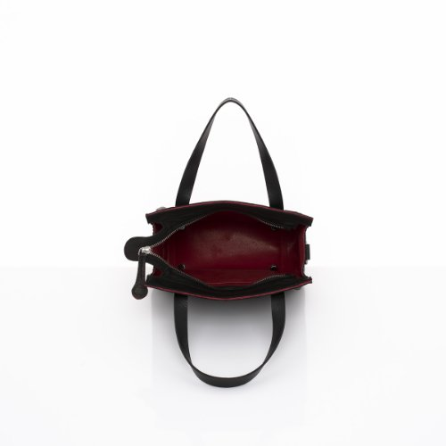 Slowbag SLOW POCKET BABY Exklusive handgemachte Handtasche für Damen Naturleder grau