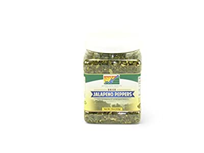 Mother Earth Products Dried Jalapeno Peppers, Quart Jar