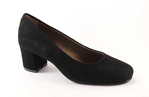 Grunland GRÜNLAND SILK SC1569 black suede shoes woman decollet Nero mg3G1ZVi