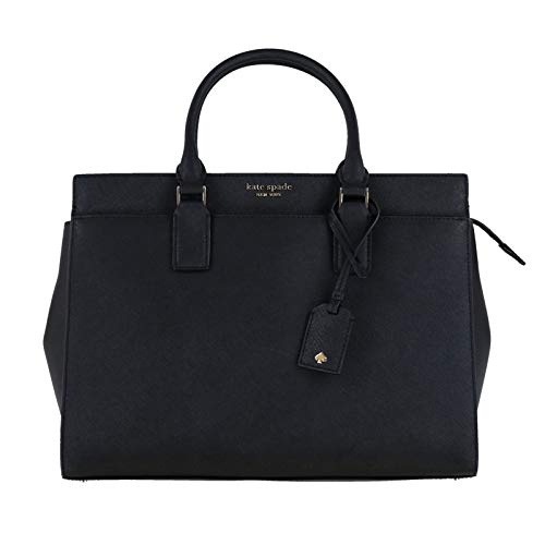 Kate Spade New York Cameron Large Satchel Purse (Black) ()