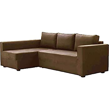 The Coffee Manstad Cover Replacement Is Custom Made For Ikea Manstad Sofa Bed With Chaise Sectional Cover Or Corner Slipcover Right Arm Longer