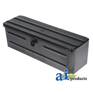 A&I Products Tool Box, Black Replacement for John Deere Part Number 5A3BL