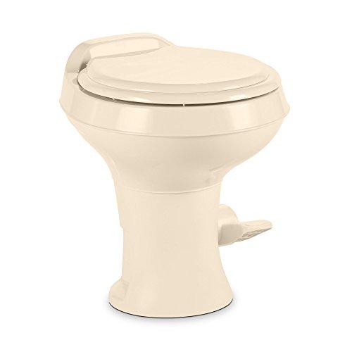Dometic 300 Series Standard Height Toilet w/ Hand Spray, Bone