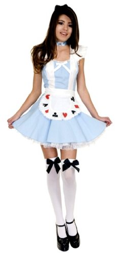 [Storybook Alice Costume - Teen Medium] (Amazing Alice In Wonderland Costumes)